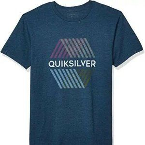 Quiksilver Men's Multi HEX TEE, Ocean Heather